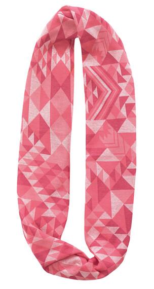 Buff Cotton Jacquard Infinity Kaulaliina , vaaleanpunainen